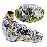 SOGAR Outdoor Tent Portable Emergency Survival Shelter Tent Camping Blankets Warm Life - saving Blanket
