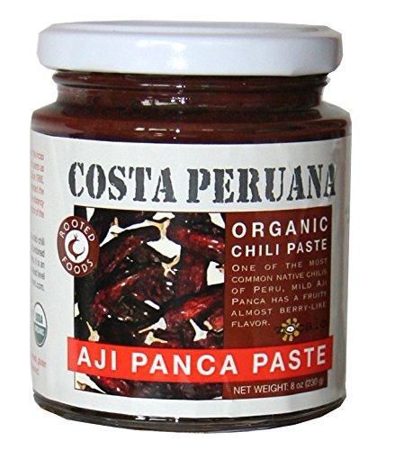 Zócalo Peru Organic Aji Panca Paste, 8 Ounce