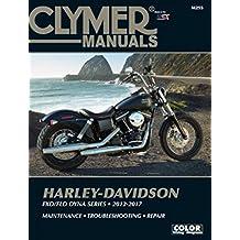 2012-2017 Harley Davidson Dyna Street Fat Bob Super Wide Glide Custom Low Rider Switchback CLYMER REPAIR MANUAL