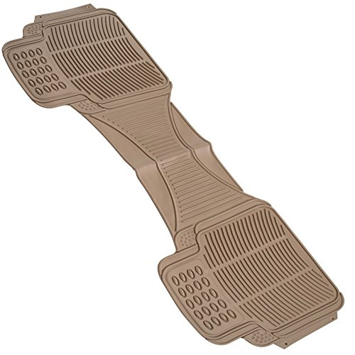 (Johns FMR-210 (Runner) Beige All-Weather Rubber Floor Mats)
