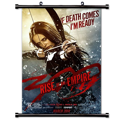 """300 Rise of An Empire Movie Fabric Wall Scroll Poster (16"""" x 24"""") Inches"""