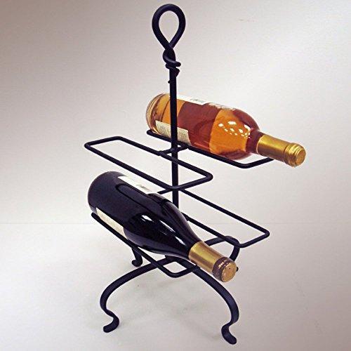J&J Wire Forged Four Bottle Wine Rack