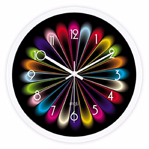 3D DIY Home Modern Creative Decoration Living Room Wall Clock Crystal Mirror - 5