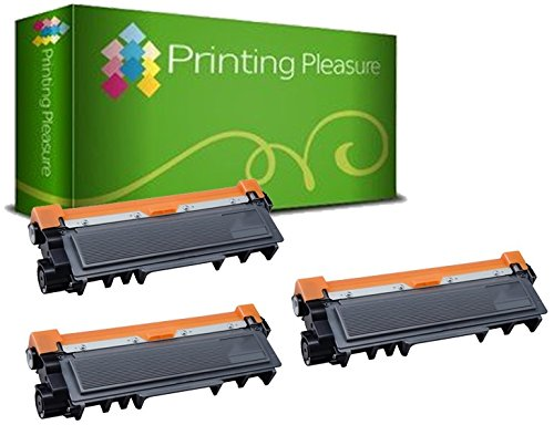 162 opinioni per Printing Pleasure TN2320 Kit 3 Toner Compatibili per Brother DCP/HL/MFC serie,