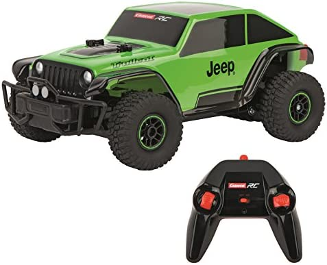لعبة سيارة جيب ريموت تحكم من كاريرا اخضر Amazon Ae