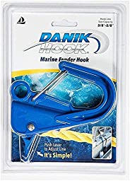 Danik Hook Composite Fender Hook - Holds up to 500 pounds, for Boating, Fishing, Camping, anchoring