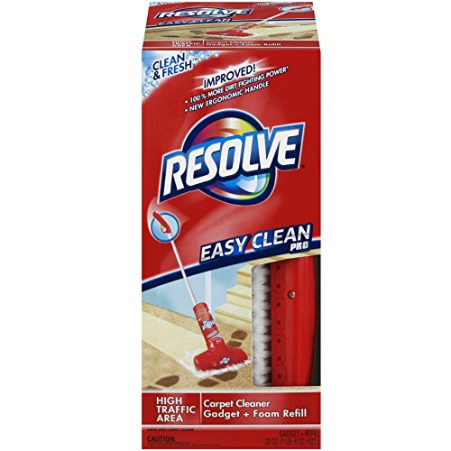 Resolve Easy Clean Pro Carpet Cleaner, 2 ct (Pack of 5) by Resolve