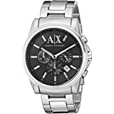 Armani Exchange Men's AX2084  Silver  Watch