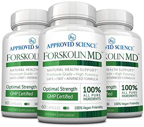 Approved Science Forskolin MD Bottles product image