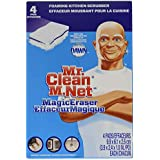 Mr. Clean Magic Eraser Kitchen, Cleaning Pads with Durafoam, 4 count (Packaging May Vary)
