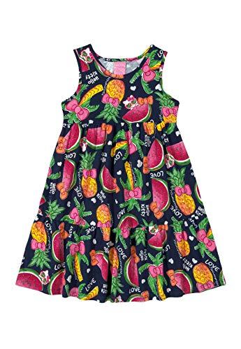 Vestido Regata Frutas Hello Kitty