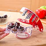 --SALE-- YouTensils Cherry Pitter & Olive Tool - 6 Cherries at Once | Includes Cherry Recipe EBOOK