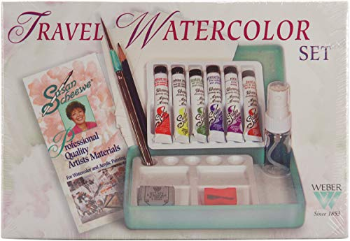 (Martin/F. Weber Susan Scheewe Travel Watercolor Set)