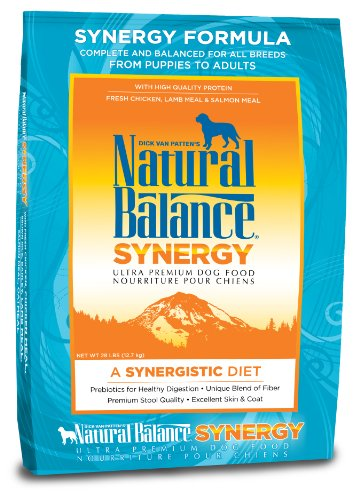 (Natural Balance Synergy Formula Ultra Premium Dog Food, 28-Pound Bag)
