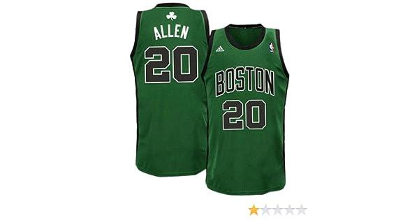 4f3686c05 Amazon.com   NBA Youth Boston Celtics Ray Allen Swingman Alternate Jersey ( Green black