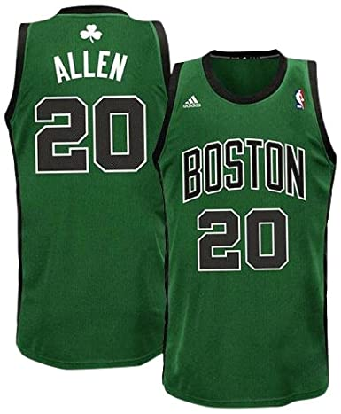 Buy NBA Youth Boston Celtics Ray Allen Swingman Alternate Jersey (Green  Black 6799de2aa