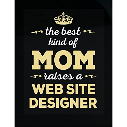 Inked Creatively Best Kind of Mom Raises A Web Site Designer. Gift for Mom - Sticker
