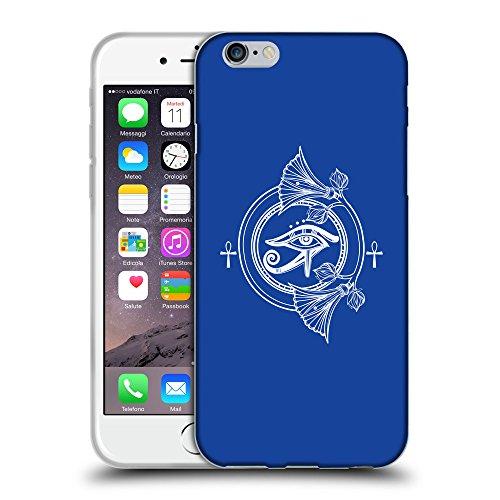 "GoGoMobile Coque de Protection TPU Silicone Case pour // Q09930613 Religion 33 Bleu // Apple iPhone 6 PLUS 5.5"""