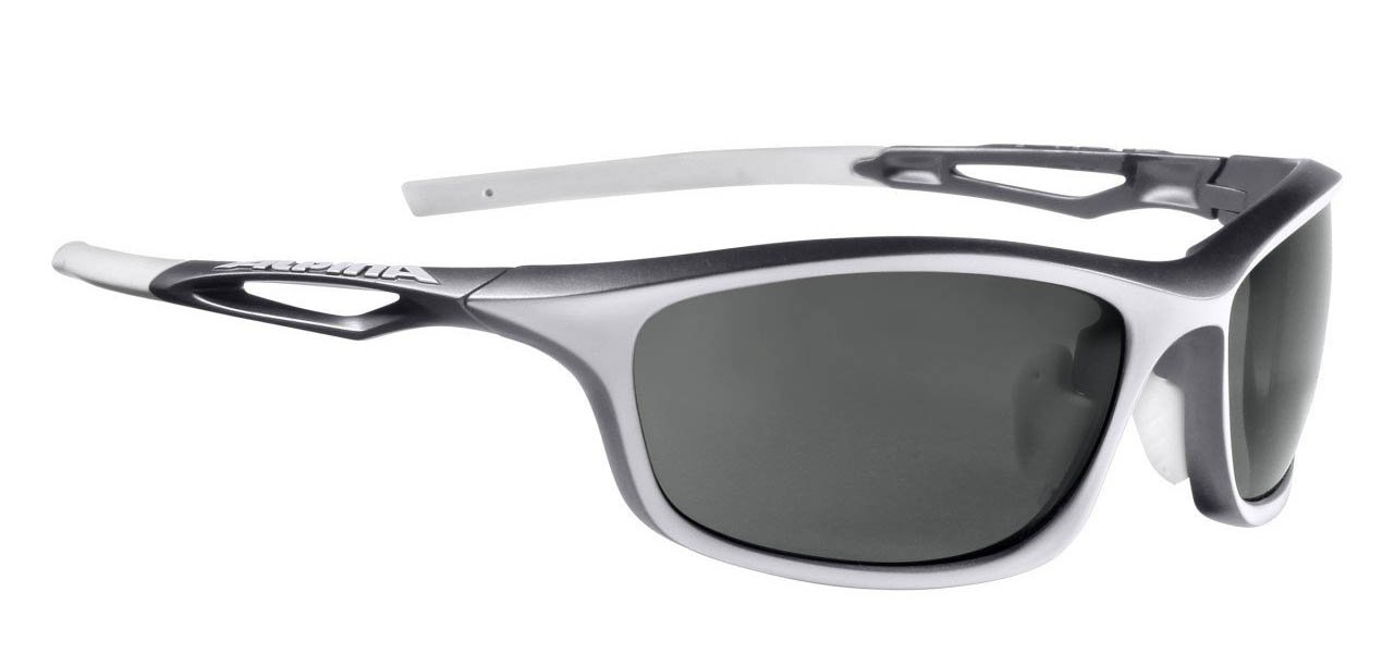 Alpina Amition Sorcery P Sonnenbrille, White-Anthracite, One size