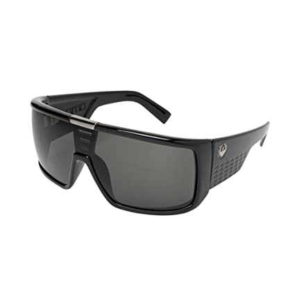 e6abfc645c3d Amazon.com  Dragon Alliance Domo Sunglasses (Jet with Grey Lens ...