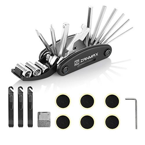 Z ZANMAX 16 in 1 Multi-Function Bicycle Repair Tool Kit, Cyc