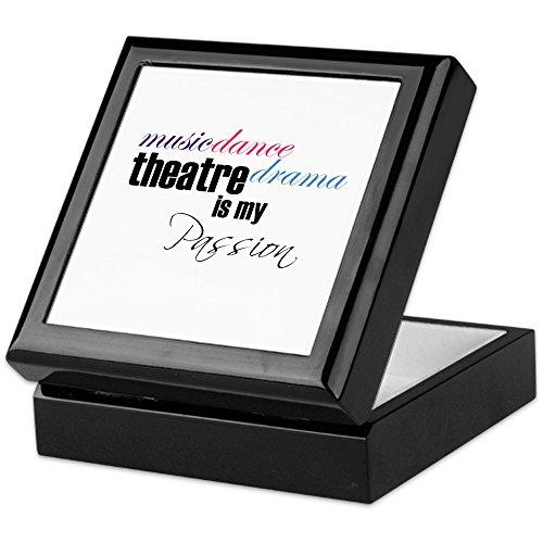 is My Passion - Keepsake Box, Finished Hardwood Jewelry Box, Velvet Lined Memento Box ()