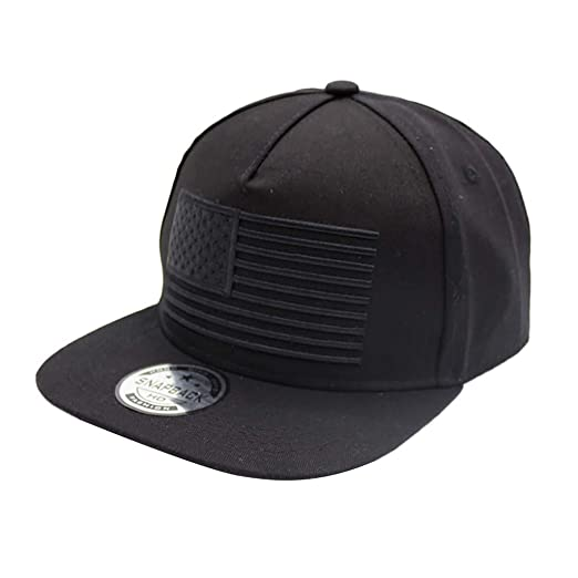 JESPER Raised Flag Embroidery Baseball Cap Gorras 3D Flag Ourdoor Hip Hop Snapback Caps Black at Amazon Womens Clothing store: