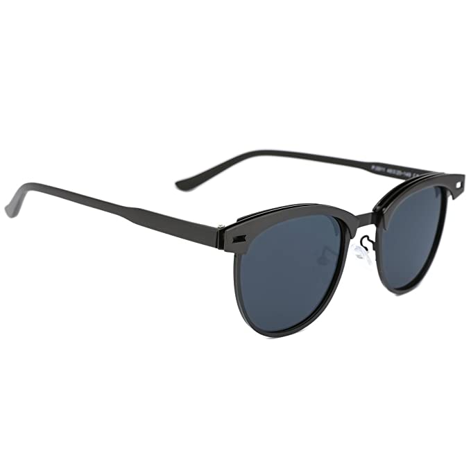 Amazon.com: Tijn Classic AP499 Clubmaster Wayfarer anteojos ...