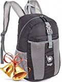 Bago Lightweight Backpack. Water Resistant Collapsible Rucksack for Travel and Sports. Foldable and...