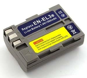Energy 4047038406325 - Batería compatible nikon en-el 3e, en-el 3, en-el 3a (dsc: d50, d70, d7