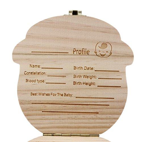 Regalos para Recién Nacidos,VENMO Caja de Dientes para Bebés (Niños) Boy