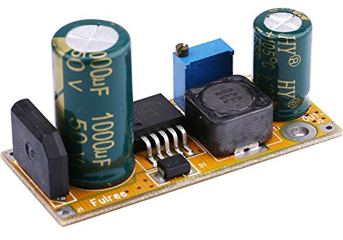 Buck Converter, Yeeco AC/DC to DC Step Down Converter AC 2.5-27V DC 3-40V 24V 36V to DC 1.5-27V 12V Voltage Regulator Board 3A Adjustable Volt Transformer Power Supply Module ()