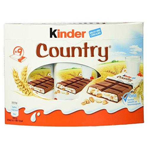 Kinder Country, 9 Stück, 212 g