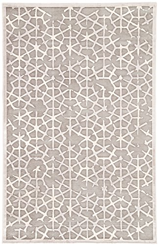 (Jaipur Living Charm Tribal Gray/Silver Area Rug (2' X 3'))