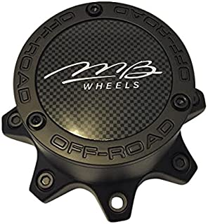 MB Wheels Off-Road C352MB-8MB Black Wheel Center Cap