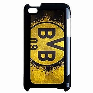 Ipod Touch 4th Borussia Dortmund Logo Phone Case Hard Cover JM