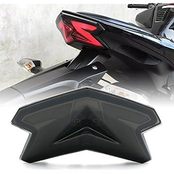 LED Tail Lights Smoke Lens For 2013-2018 Kawasaki Ninja ZX-6R(636) Z125 Z125 Pro Z800