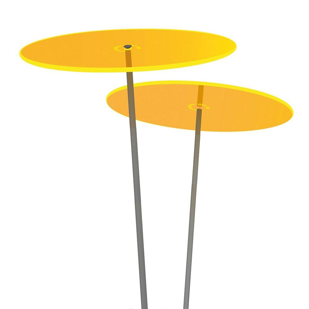 Cazador del Sol® medio | Duo | 2pezzi Collettore solare fette di giallo 1,20meter di altezza–L' originale