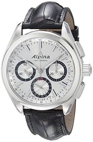 Alpina-Mens-AL-760SB5AQ6-Alpiner-4-Manufacture-Analog-Display-Automatic-Self-Wind-Black-Watch