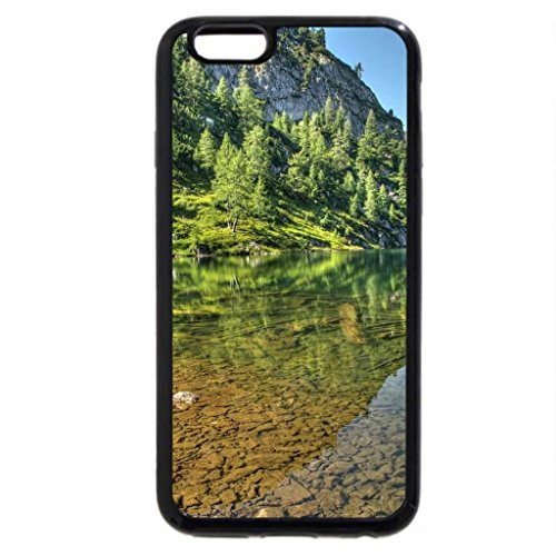 iPhone 6S / iPhone 6 Case (Black) magnificent clear lake