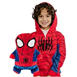 Cubcoats Marvel's Spider-Man - 2-in-1 Transforming Hoodie & Soft Plushie - Red & Blue