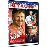 Political Comedies - Triple Feature:  Swing Vote, Blaze, Wrong Is Right