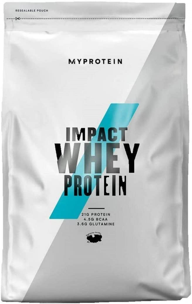 Myprotein Impact Whey Proteína de Suero, Sabor Vainilla - 5000 gr