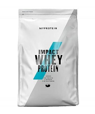 MyProtein Impact Whey Proteína de Suero, Sabor Fresas y Nata - 1000 gr