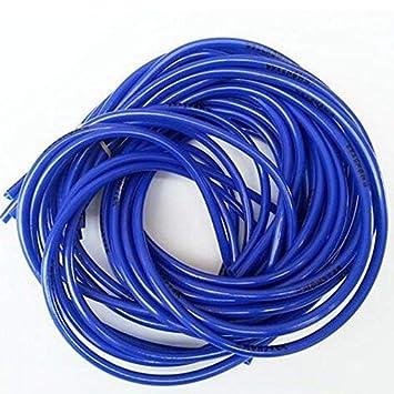 Suneway Universal Gasolina Motocicleta Gasolina Manguera de Combustible Gasolina Tubo de Aceite Tubo Azul