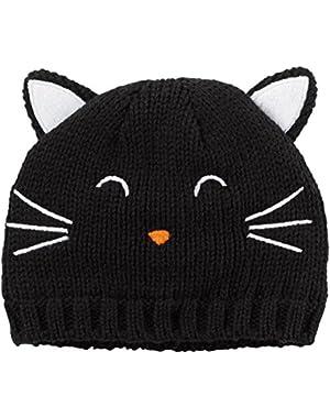 Black Cat Beanie (Baby)