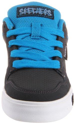 Skechers Vert II 91476L BKGY - Zapatillas para niño Gris