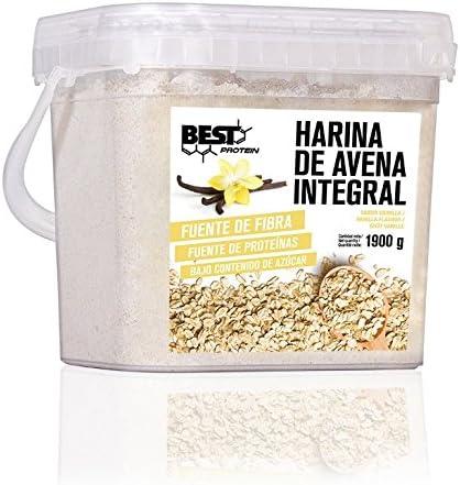 Best Protein Harina de Avena Vainilla - 1900 gr: Amazon.es: Salud ...