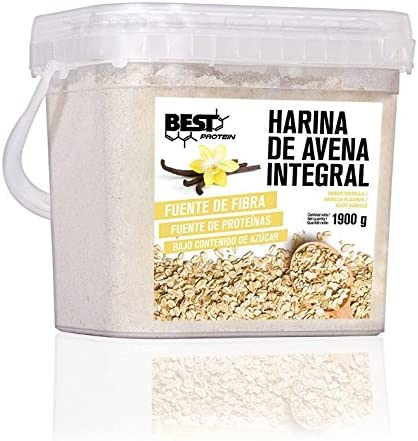 Best Protein Harina de Avena Vainilla - 1900 gr
