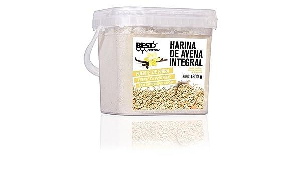 Best Protein Harina de Avena Vainilla - 1900 gr: Amazon.es ...